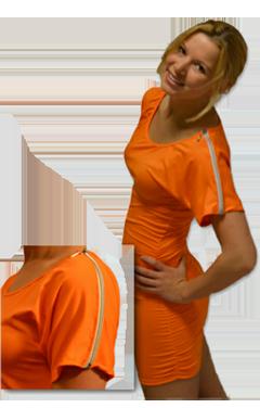 oranje jurk kopen